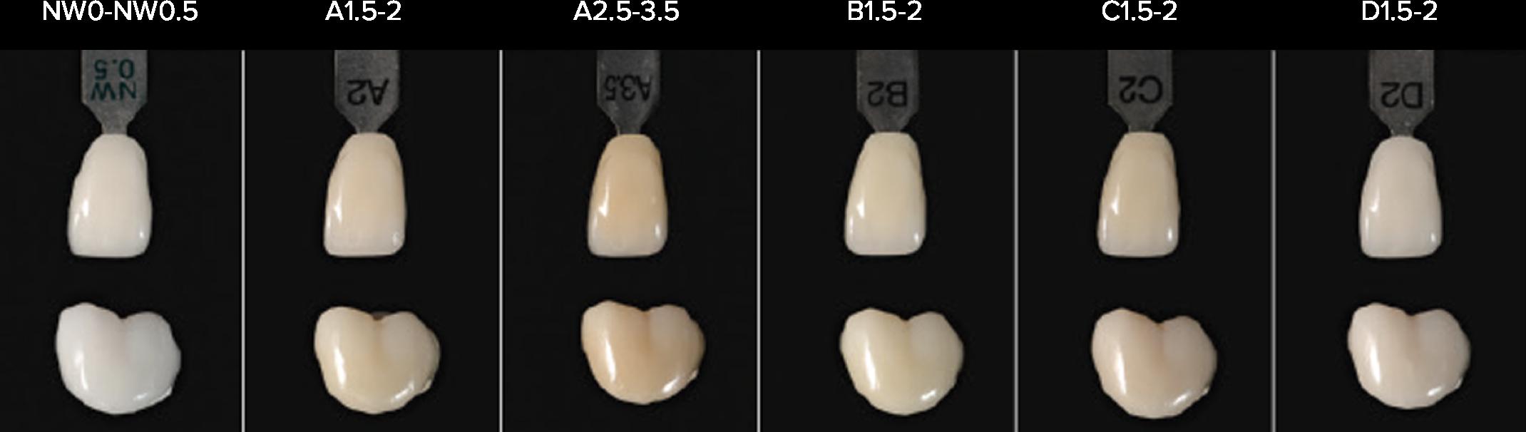 A3 Shade Teeth